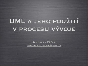 UML v procesu vývoje