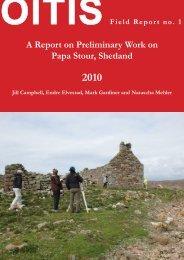 A Report on Preliminary Work on Papa Stour ... - Universität Wien
