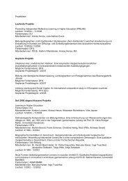 Gesamtliste der Projekte und Tätigkeiten [PDF]