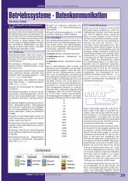 Betriebssysteme - Datenkommunikation - PCNews
