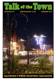 saltburn's free monthly magazine - Redcar & Cleveland Mind