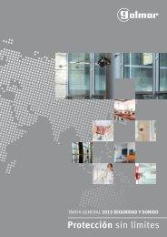 Catálogo Seguridad y Sonido 2013 - Golmar