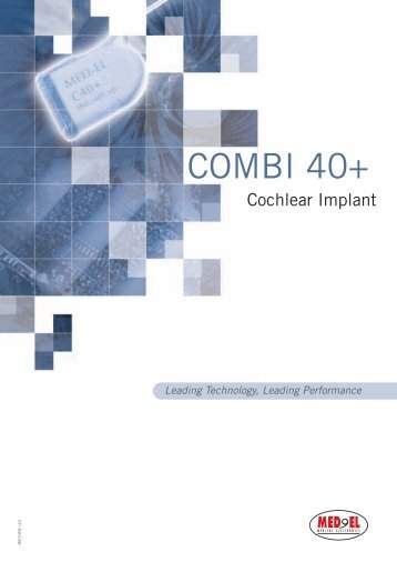 Cochlear Implant - Med-El