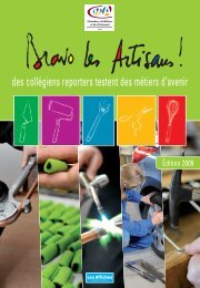 4e DE COUV. CG - Chambre des Métiers et de l'Artisanat