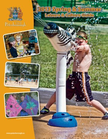 Leisure Services Guide - City of Peterborough