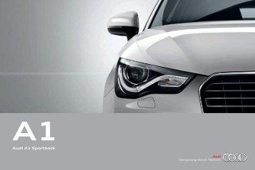 Audi A1 Sportback - Audi A1 Test Drive Booking