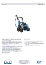 POSEIDON 8 - Robe Reinigungsmaschinen GmbH
