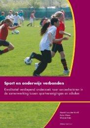 Sport en onderwijs verbonden - NOC*NSF