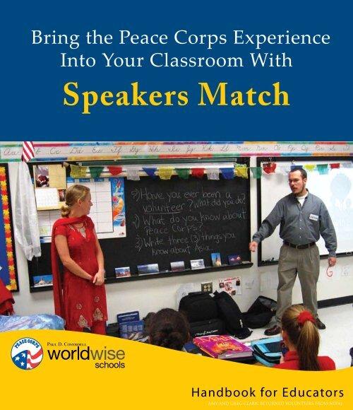 Speakers Match Handbook for Educators - Peace Corps