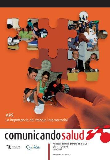 Proaps . Nota Cable a Tierra Julio 2007.pdf - Comité Adolescencia ...