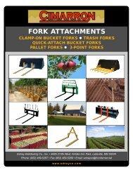Cimarron Northstar Pallet Forks - Edney Distributing Co. Inc.