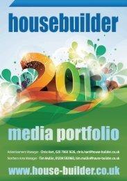 Advertisement Manager - Chris Hart, 020 7960 1636 ... - Housebuilder
