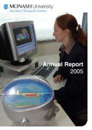 Annual Report 2005 - Monash University