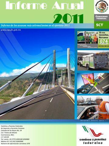 Informe Anual 2011 - Caminos y Puentes Federales