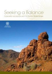 Seeking a Balance - PIRSA - SA.gov.au