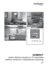 DOMEKT - Komfovent