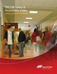 Fire, Life Safety & Accessibility Codes - Security Technologies