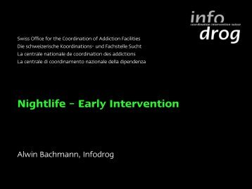 Nightlife – Early Intervention - Club Health 2011 Prague