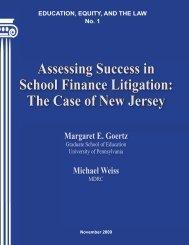 Assessing Success in School Finance Litigation - Teachers College ...