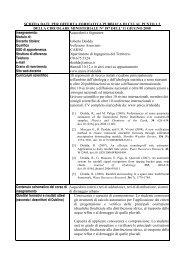 Acquedotti e fognature - Ingegneria per l'Ambiente e il Territorio