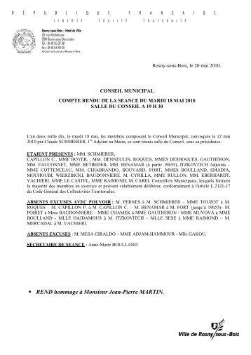 REND hommage à Monsieur Jean-Pierre MARTIN. - Site officiel de ...