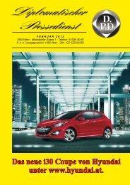 Das neue i30 Coupe von Hyundai unter www.hyundai.at.