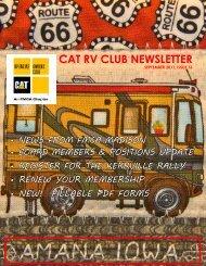 September - Diesel RV Club