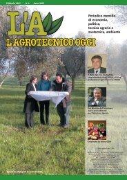 L'Agrotecnico Oggi febbraio 07 - Collegio Nazionale degli Agrotecnici