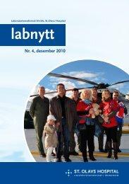 Nr. 4, desember 2010 - St. Olavs Hospital