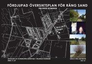 Fördjupad översiktsplan för Räng Sand (PDF-fil ... - Vellinge kommun
