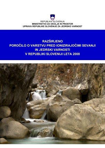 Razširjeno letno poročilo za leto 2008 - Uprava Republike Slovenije ...