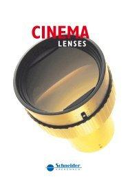 Cinema - Schneider Optics