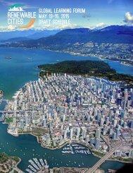 Renewable-Cities-Global-Learning-Forum-Schedule