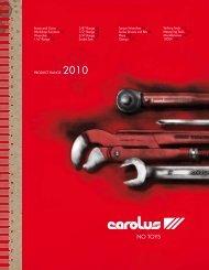 PRODUCT RANGE 2010 CAROLUS PRODUCT RANGE