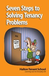 Seven Steps to Solving Tenancy Problems - Your Legal Rights