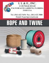 Rope and Twine