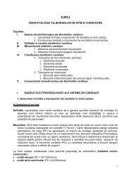 1 CURS 2 FIZIOPATOLOGIA TULBURARILOR DE ... - OvidiusMD