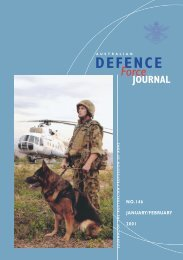 ISSUE 146 : Jan/Feb - 2001 - Australian Defence Force Journal