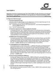 CEZP-U (PDF) - Versicherung Continentale Hannover