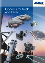 Products for truck and trailer - JOST-World