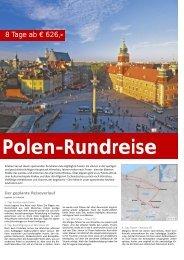 Polen-Rundreise - tramex