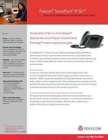 Polycom SoundPoint IP 501*