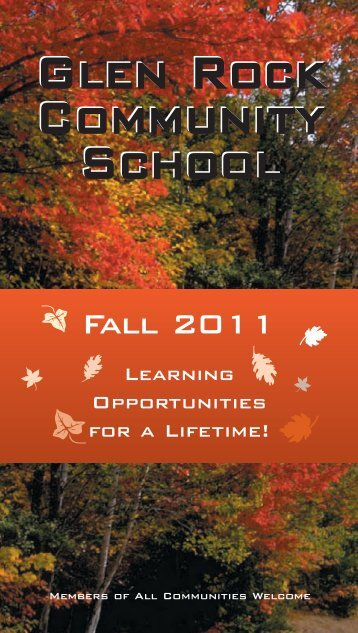 FALL 2D11 - GRCS Course Catalog