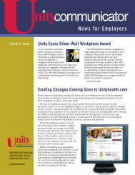39797 Unity - Unity Health Insurance