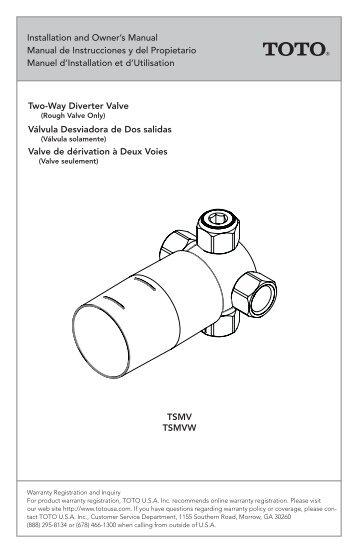Toro 53381 Plastic Electric Valve Owner S Manual