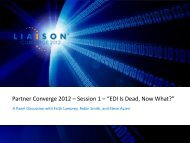 Converge 2012 - Liaison Technologies