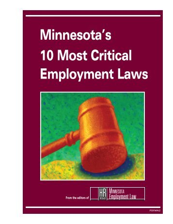 Minnesota's 10 Most Critical Employment Laws