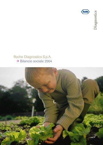 Roche Diagnostics S.p.A. Bilancio sociale 2004