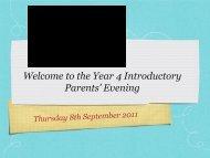 Year 4 Meet the Teacher.pdf - Beacon Hill School