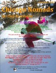 December Newsletter - Chicago Nomads Ski Club
